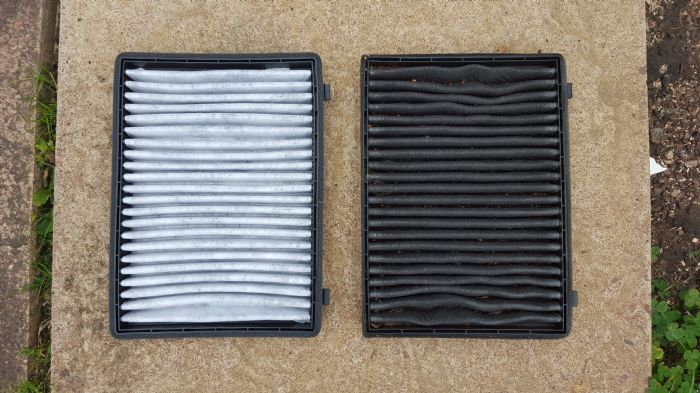 how to change the pollen filter on my astra